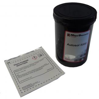 Autosol 5000 dual cure emulsion