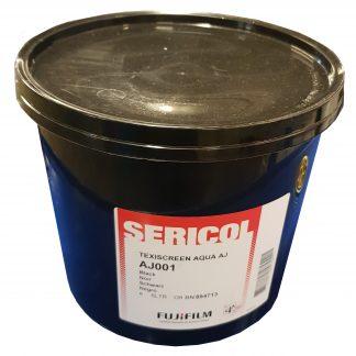 Sericol Texiscreen Aqua AJ Waterbased Screen Printing Textile Ink Range