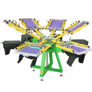 Screen Printing Carousels / Clamps / Presses / Benches & Fabric Tables