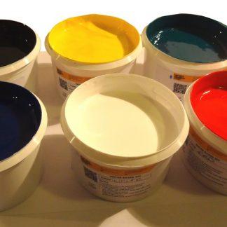 Screen Printing Waterbased inks selection pack